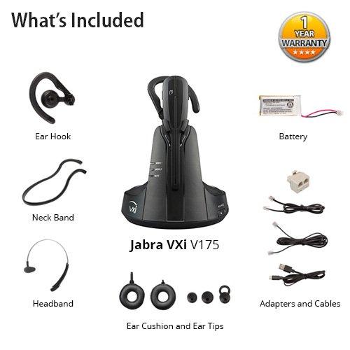 Jabra VXi V175 Wireless Headset for Desk Phones by Jabra (Image #5)