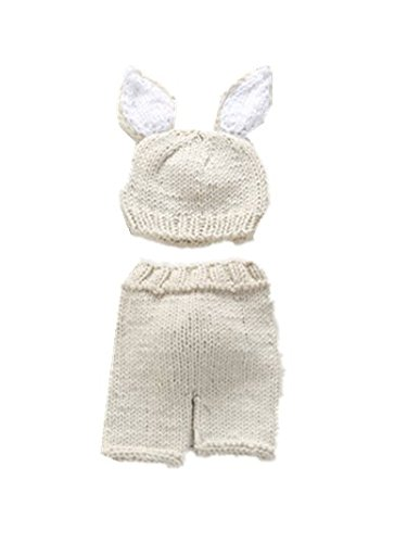 06b8ce160498 TBOP Baby Sweater Rabbit Modeling Wool Suit Photography Props ...