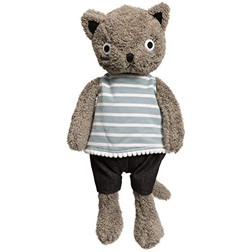 (iBonny Plush Cat Stuffed Animal Kids Toys Gift Animals Soft Baby Doll 13 Inch)