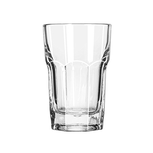 Hi Ball Glass Set - Libbey Glassware 15236 Gibraltar Hi-Ball Glass, Duratuff, 9 oz. (Pack of 36)