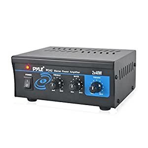 Amazon Com Home Audio Power Amplifier System 2x40w Mini