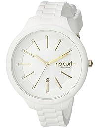 Rip Curl Women's A2822G-WHI Horizon Silicone by Alana Blanchard Analog Display Analog Quartz White Watch