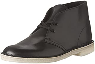 CLARKS Men's Desert Chukka Boot, Leather/Black, 7.5 M US (B01N9QEHU7) | Amazon price tracker / tracking, Amazon price history charts, Amazon price watches, Amazon price drop alerts
