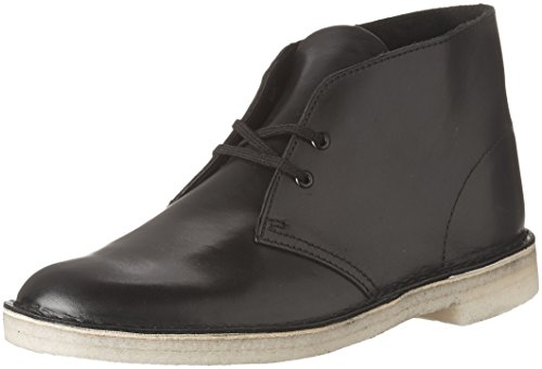 Desert Mens Leather Black Boot Clarks dUn4xCRd