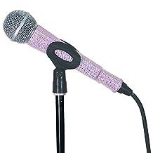 MicFX SF055 Glit Corded Microphone Sleeve - Soft Pink