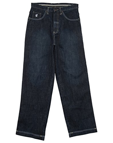 Roca Wear Striped Back Pocket Denim Jeans Mens Style: RH2014100-INKBLUED Size: L34W32 ()
