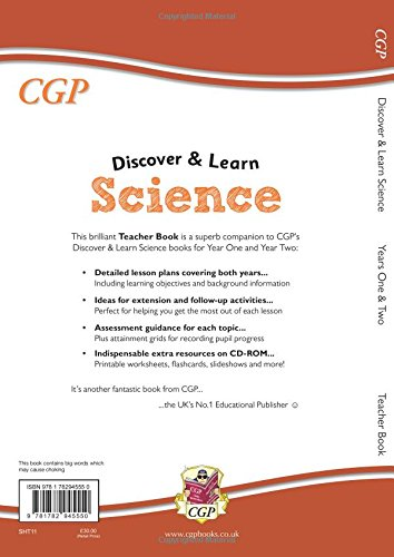 KS1 Discover & Learn: Science - Teacher Book for Year 1 & 2: CGP ...