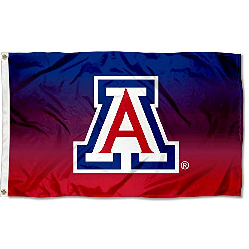 (College Flags and Banners Co. Arizona Wildcats Two Tone Gradient Flag)