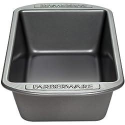 Farberware Bakeware 52105 9 x 5-Inch Nonstick Loaf Pan, Gray
