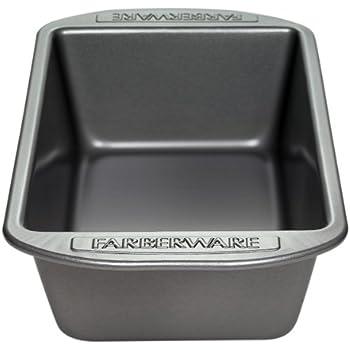 Farberware Bakeware 9 x 5-Inch Nonstick Loaf Pan, Gray