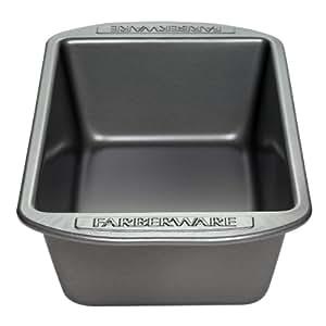 Farberware Nonstick Bakeware 2-Pack Loaf Pan, 9-Inch x 5-Inch, Gray