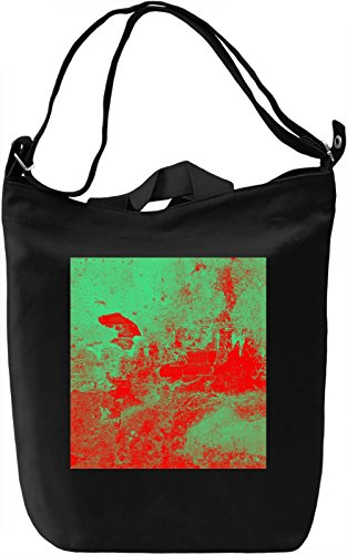 Broken Red Wall Print Borsa Giornaliera Canvas Canvas Day Bag| 100% Premium Cotton Canvas| DTG Printing|
