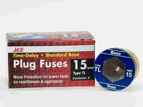 TL-15 Ace Time Delay Plug Fuse Bx//4
