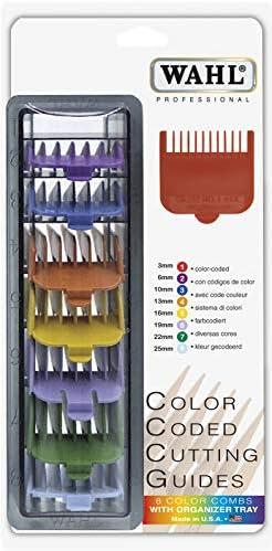 Wahl 3170-800 - Peine-guía, 8 unidades, multicolor: Amazon.es ...