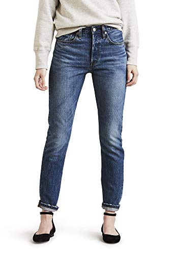Fly Levis Button 501 (Levi's 501 Skinny Jeans (26W x 28L, Chill Pill))