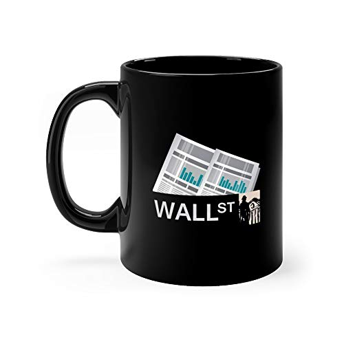 Wall Street New York Statistics Economy Milk Mug 11Oz Ceramic
