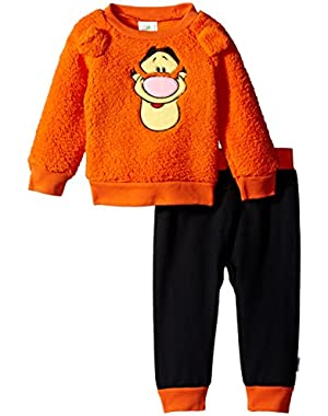 Baby Boys' Tigger Plush Pant Set