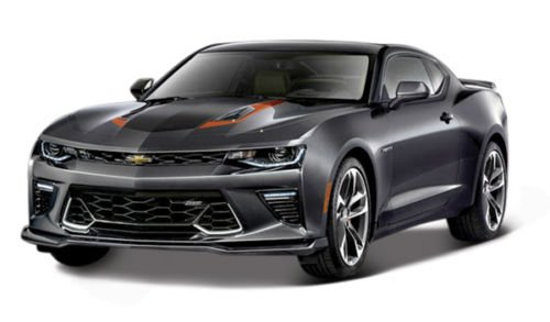1:18 SPECIAL EDITION - 2017 CHEVROLET CAMARO FIFTY (50TH ANNIVERSARY) GREY COLOR 31385GRY BY MAISTO