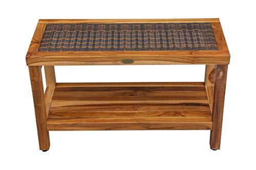 DecoTeak V-ED1000 Eleganto Stool, Brown (Teak Furniture Indonesia Outdoor)