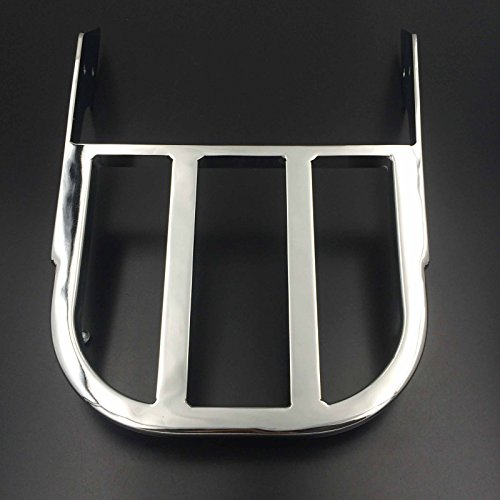 HTT Group Motorcycle Chrome Sissy Bar Luggage Rack For 2002-2006 Honda VTX 1300C /2002-2011 Honda VTX 1800C /2005-2011 Honda VTX 1800F