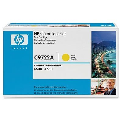 GENUINE HP C9722A Yellow Toner Cartridge, Office Central