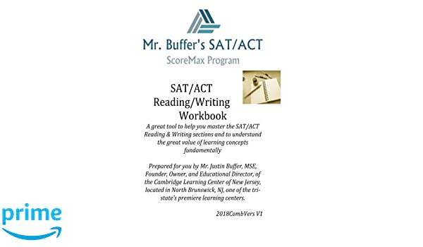 Amazon.com: Mr. Buffers SAT ACT Reading Writing Journal ...