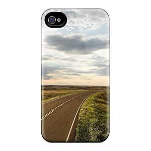 Vvx27583RyMG Protective Cases For Iphone 6(sunshine On Highway In The Plains)