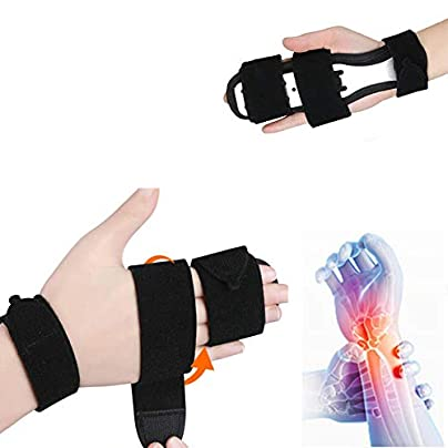 Universal Adjustable Support Straps Wristbands Wrist Support Brace Carpal Tunnel Syndrome Sports Injuries Fracture Arthritis Pain Relief Estimated Price £39.90 -