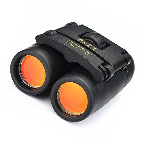 Qiorange Outdoor Travel 8 x 21 Zoom Mini Binoculars Telescop