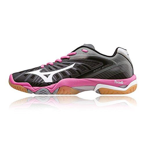 Femmes Chaussures Wave Mirage Indoor Mizuno Noir IwEHxnF4Iq