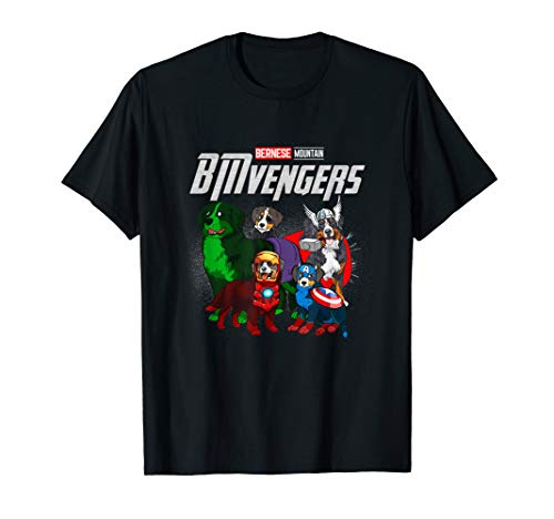 (Funny Bernese Mountain Dog Lover Gift BMvengers For Fans T-Shirt )