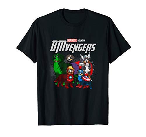 Funny Bernese Mountain Dog Lover Gift BMvengers For Fans T-Shirt