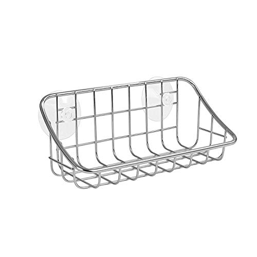 - Spectrum Diversified Grid Suction Sink Organizer, Steel
