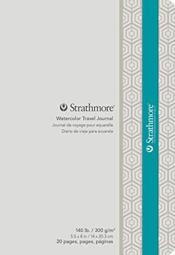 "Strathmore 500 Serie 5.5"" x 8"" weiß"
