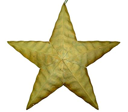 Buy Craft Outlet Tin Wavy Star Wall Decor, 18-Inch, Off-White Online ...