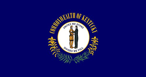 Kentucky State Flag from SoCal Flags 3x5 Foot Polyester - So