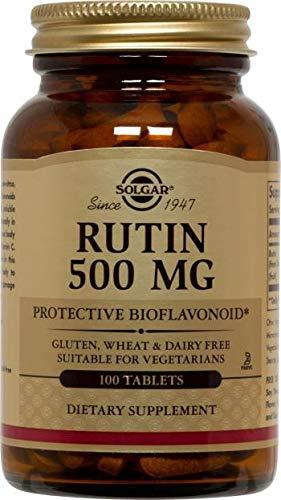 Solgar – Rutin 500 mg, 100 Tablets