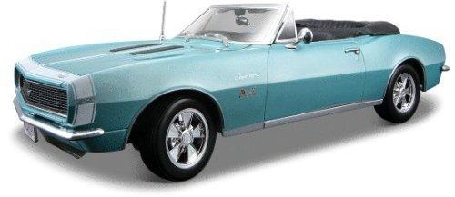 1967 Chevrolet Camaro Chevrolet Camaro SS 396 Convertible Turquoise 1:18 minicar model car die cast [parallel import]