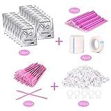 Eyelash Extension Supplies 4x100 Packs - Beauty
