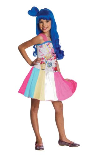 Katy Perry Candy Girl Child's Costume, (Katy Perry Costumes)