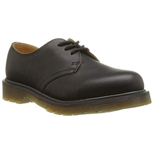 - Dr.Martens Womens 1461 Plain Welt 3-Eyelet Black Leather Shoes 8.5 US