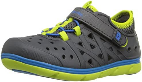 Stride Rite Kids' Made 2 Play Phibian Sneaker Sandal Water Shoe