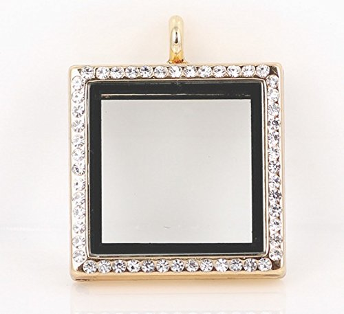 Square Picture Frame Charm - 8