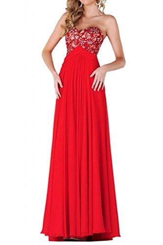 Toscana sposa Glamour Rueckenfrei vestimento Chiffon con punta in fibra di carbonio per una serata Party un'ampia ball vestimento