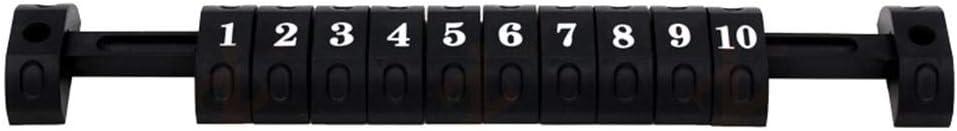 QueenHome Universal-Scoring-Einheit f/ür Standard-Kickertische mit Foosball-Scoring-Einheiten Tischfu/ßball-Z/ähler 10 Zahlen Scoring Score Indikator f/ür Standard-Foosball-Tische 2pcs