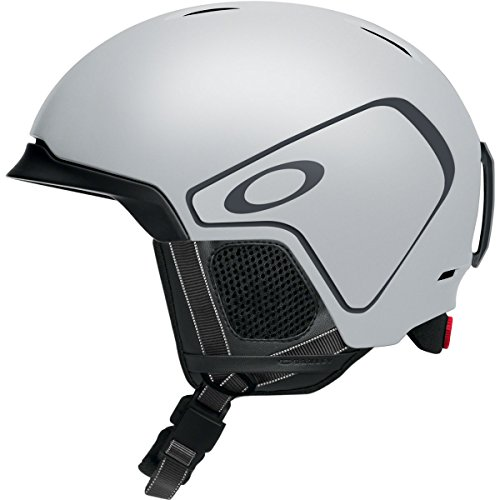 (Oakley Mod 3 Adult Ski/Snowboarding Helmet - Matte Grey/Medium)