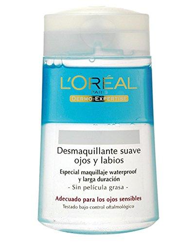 LOreal Paris Dermo Expertise Desmaquillante Ojos y Labios sin Efecto Gaso - 125 ml