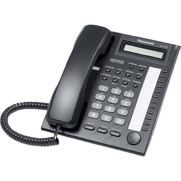 Panasonic Kx T7730 Black Chorded Telephone Telecom Systems Business Industrial