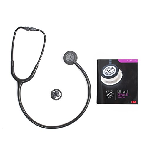Classic III Stethoscope, for Children and Adult (5803 Black Black)
