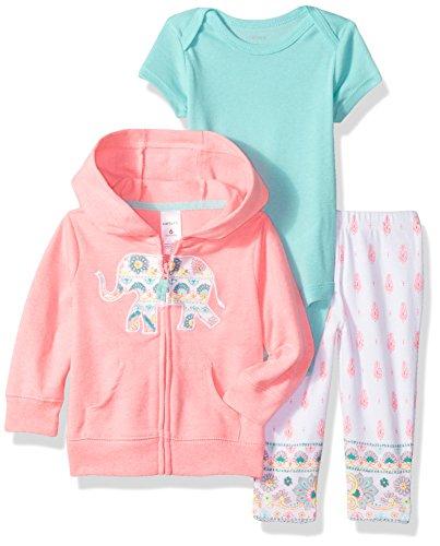 - Carter's Baby Girls' Cardigan Sets 121h257, Pink 6 Months